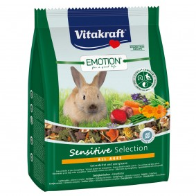 Vitakraft Emotion Sensitive Zwergkaninchen Select 1,5kg