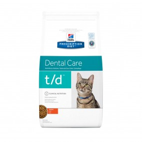 Hill's Prescription Diet t/d Dental Care Katzenfutter mit Huhn