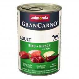 Animonda GranCarno Adult Rind und Hirsch mit Apfel