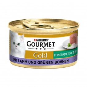 Gourmet Gold Feine Pastete Lamm&Grüne Bohnen