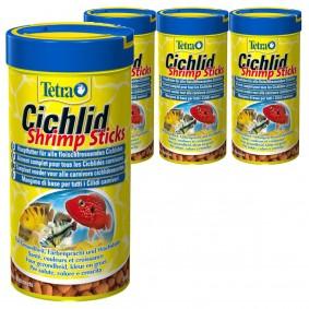 Tetra Cichlid Shrimp Sticks 4x250ml