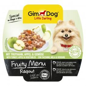 GimDog Fruity Menu Ragout mit Truthahn Apfel & Gemüse