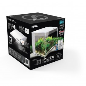 Fluval Aquarium Flex Set 34 L Weiß