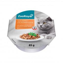 ZooRoyal Gourmet Leckerbissen mit zartem Hühnchenfleisch in feiner Sauce