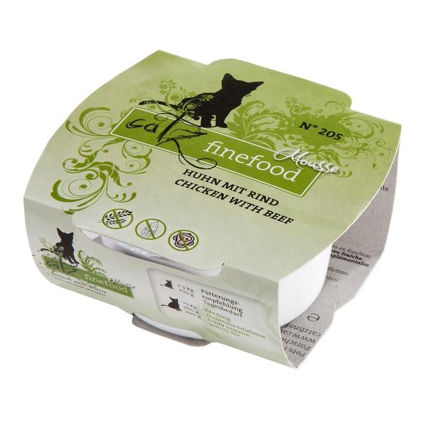 Catz finefood Mousse N°205 Huhn mit Rind 12x100g