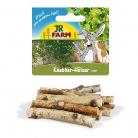 JR Farm Knabber-Hölzer Birke für Nager