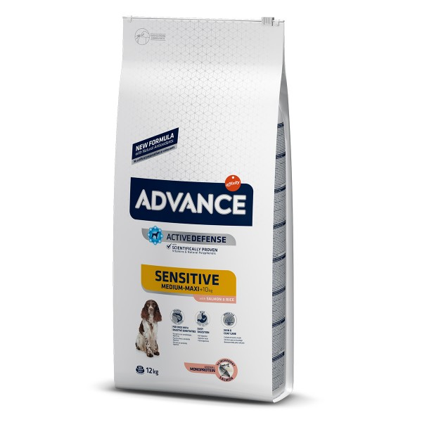Advance Hundefutter Sensitive Lachs und Reis - ...
