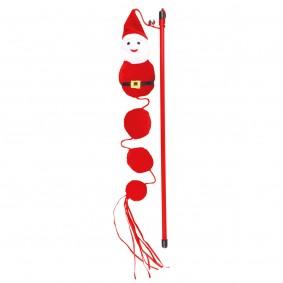 Trixie Xmas Spielangel Santa 40cm