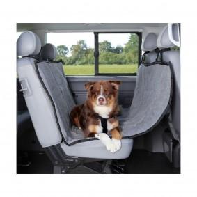 Housse de siège de voiture de 1,45 × 1,60 m imitation agneau