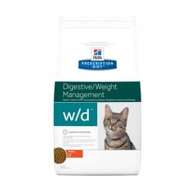 Hill's Prescription Diet w/d Digestive & Weight Management Katzenfutter mit Huhn