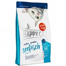 Interquell Happy Cat Sensitive Grainfree Seefisch - 4kg
