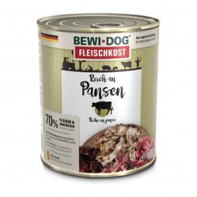 Bewi Dog Hunde-Fleischkost Reich an Pansen