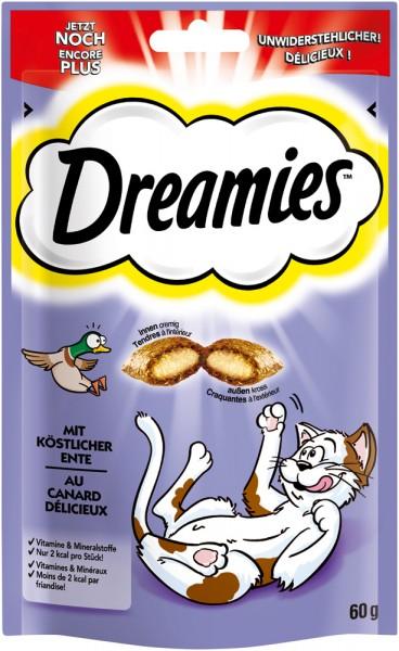 Dreamies Katzensnack mit Ente - 60g