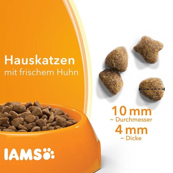IAMS for Vitality Indoor mit frischem Huhn 3kg
