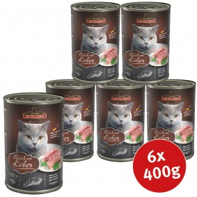 Leonardo Premium Katzenfutter All-Meat 6x400g
