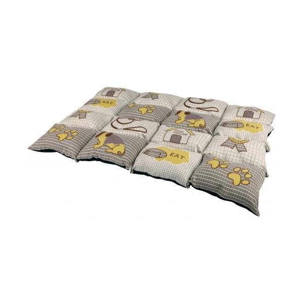 Trixie Decke Patchwork taupe/beige 100x70 cm