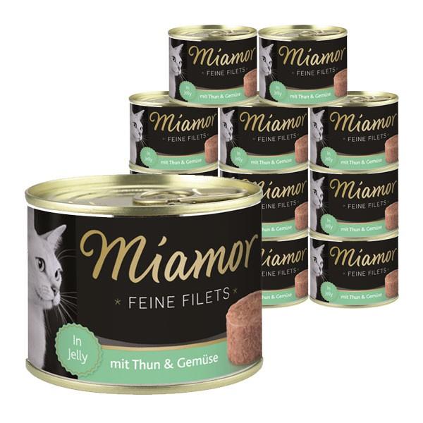 Miamor Feine Filets in Jelly Thunfisch & Gemüse 12x185g