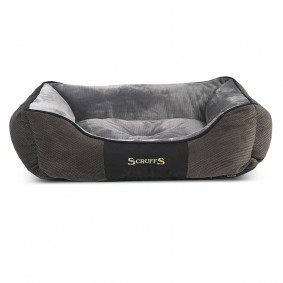 Scruffs Hundebett Chester Box Bed Grau