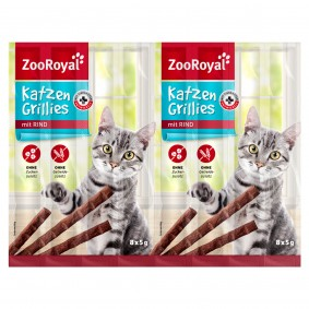 ZooRoyal Katzen-Grillies mit Rind