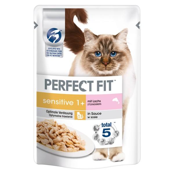 Perfect Fit Katzenfutter Sensitive mit Lachs