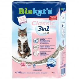 Biokat's Klumpstreu Classic Fresh 3 in 1 Babypuderduft 20 L