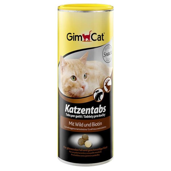 GimCat Katzentabs mit Wild & Biotin 425g