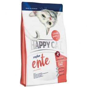 Happy Cat Sensitive Ente 3x4kg