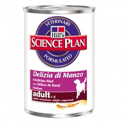 Hill's Science Plan Adult mit Rind 12x370g
