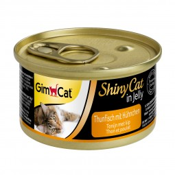 GimCat ShinyCat Thunfisch mit Hühnchen 6x70g