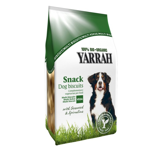 Yarrah Hundesnack Bio Multi Kekse 250g