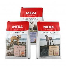 MERA pure sensitive Trockenfutter Probierpaket 3x1kg