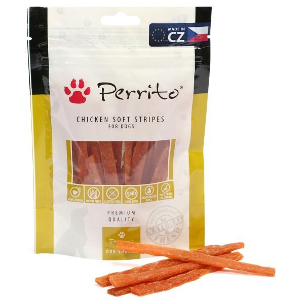 Perrito Chicken Soft Stripes 100g