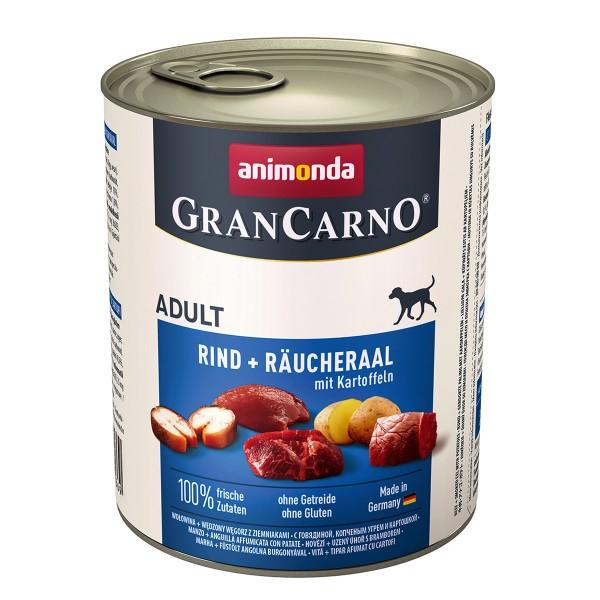 Animonda GranCarno Adult Rind und Räucheraal mit Kartoffeln