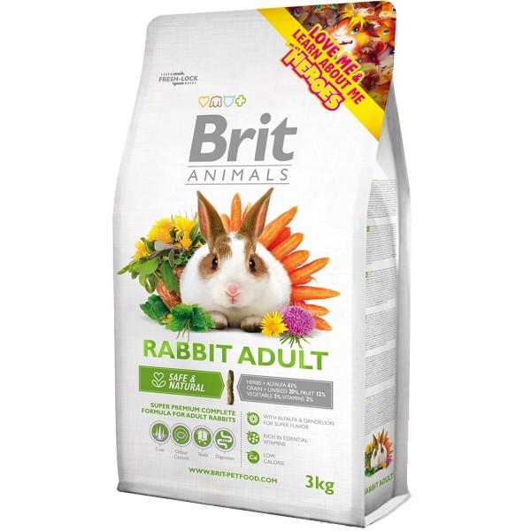 Brit Animals Rabbit Adult Complete - 3kg