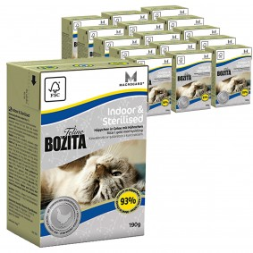 Bozita Feline Funktion Indoor & Sterilised 16x190g