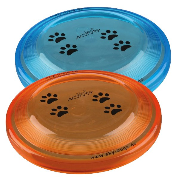 Trixie Dog Activity Dog Disc Hundefrisbee aus Kunststoff 19cm