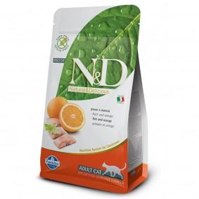 N&D Katzenfutter Fisch&Orange Adult getreidefrei
