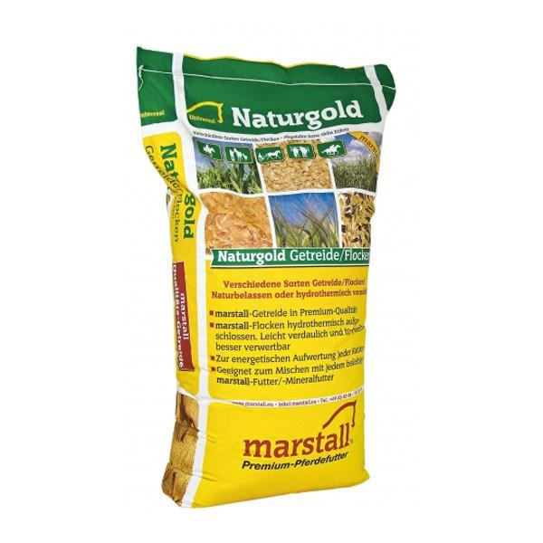 Marstall Schwarz-Gold-Hafer Pferdefutter 25kg