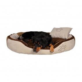 Lit pour chiens Bonzo beige/brun