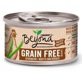 Purina BEYOND Getreidefrei reich an Huhn mit grünen Bohnen Pastete