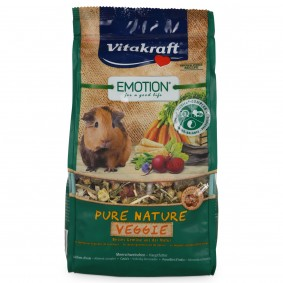 Vitakraft Emotion Pure Nature Veggie morčata 600 g