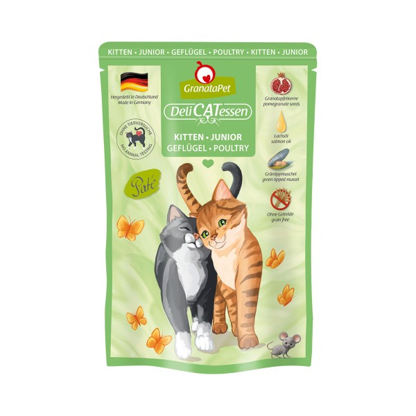 GranataPet Katze - Delicatessen Pouch Kitten Geflügel
