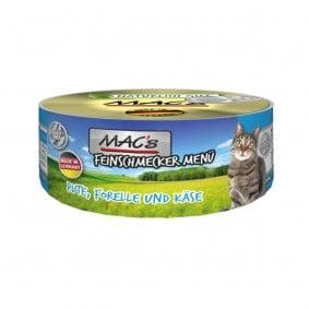 MAC's Cat Feinschmecker Menü mit Pute & Forelle
