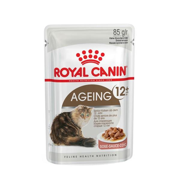 Royal Canin Katzenfutter Ageing +12 in Soße 12x85g