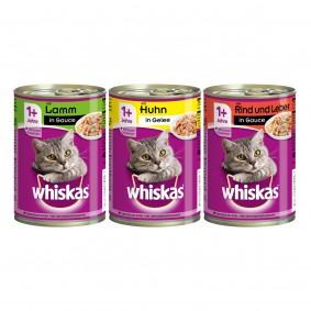 Whiskas 36x400g Mixpaket