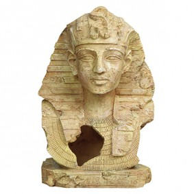 Aquarium Dekoration, Büste Tutanchamun