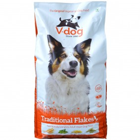 V-Dog Hundefutter Flocken Vegan 15kg