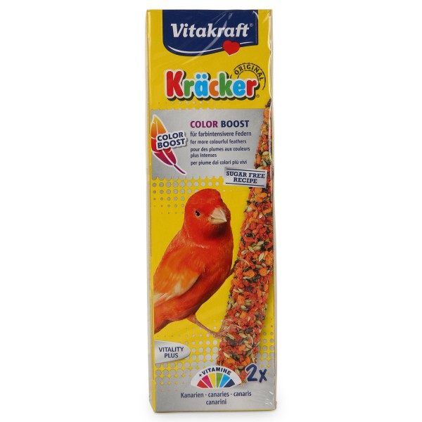 Vitakraft Kräcker Color Boost für Kanarien