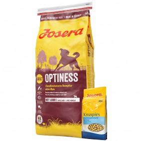 Josera Optiness 15kg + Josera Knuspies 1,5kg GRATIS
