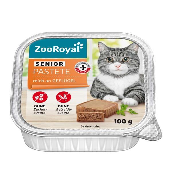 ZooRoyal Senior-Pastete reich an Geflügel